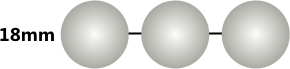 18mm Bead Size