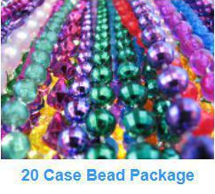 Twenty case bead package