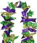 Mardi Gras Garland Decoration