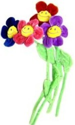 Plush Flower Decorations