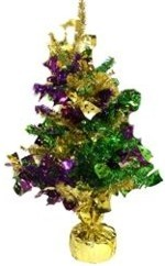 Mardi Gras Tree Decoration
