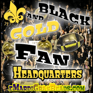 Black & Gold Fan Merchandise