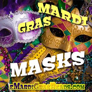 Mardi Gras Masquerade Masks, Venetian Masquerade Masks