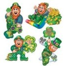 St Patrick's Day Decorations - Cutouts