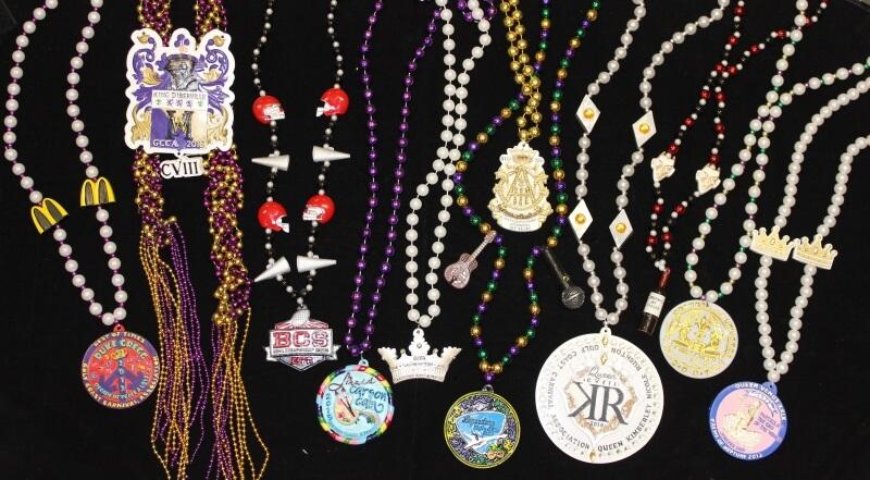Custom Mardi Gras medallions