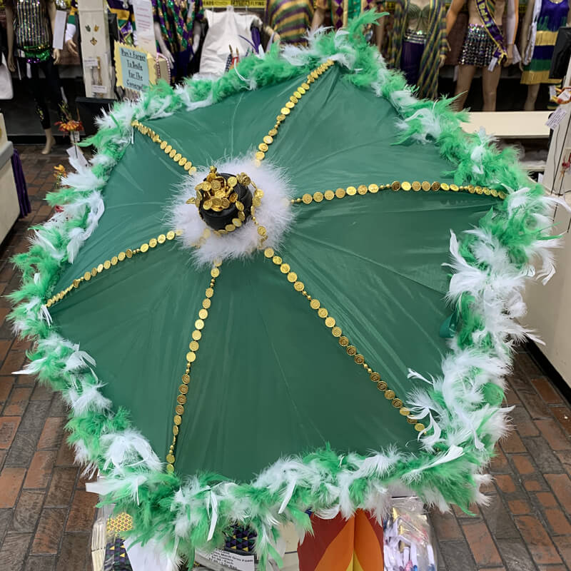 Custom Saint Patrick's Day umbrella