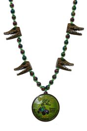 """Swamp Ruggy Races 2012"" custom alligator beads"