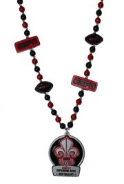 Custom Superbowl - New Orleans beads