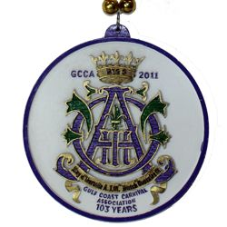 "Memorial ""GCCA 2011"" custom medallion"