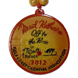 Custom medallion for GCCA 2012 event