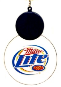 "Custom ""Miller Lite"" medallion"