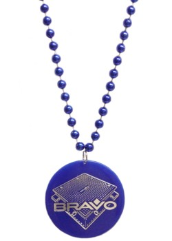 "Custom hot stamped ""Bravo"" Medallion"
