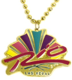 Custom medallion for Rio Casino