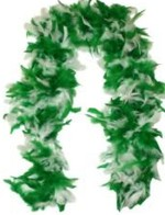 St Patrick's Day Feather Boa