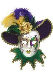 Mardi Gras Masquerade Masks For Men And Women