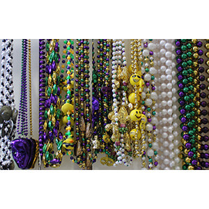 Mix of Assorted Styles and Colors Hand strung Beads
