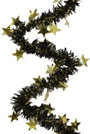 BLACK AND GOLD GARLAND