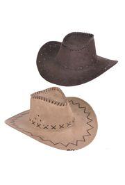 Microsuede Cowboy Hat