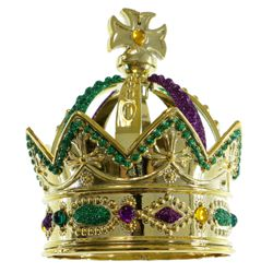 4.25in Plastic Crown Decoration