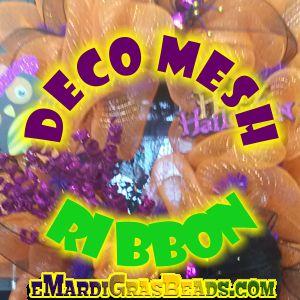 Deco Mesh Ribbon