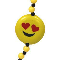 42in Smiley Faces Necklace