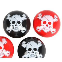 27mm Pirate Hi-Bounce Balls