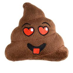 5in Plush Emoticon/ Emoji Poop