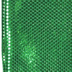 44in x 15ft Green Material w/ 3mm Spangles