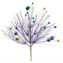 22in Mardi Gras Ball Tree Centerpiece