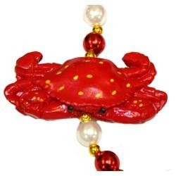 Red Crab Necklace