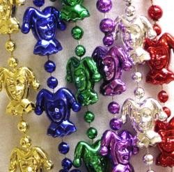 48in Metallic 6 Assorted Color Jester Beads
