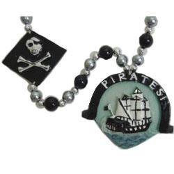 Pirate Ship Medallion Bead