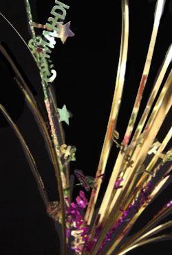 21in Mardi Gras Onion Grass