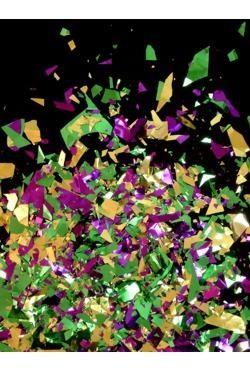 1lb Purple/ Green/ Gold Confetti