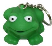 2in Rubber Frog Keychain