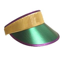 Metallic Purple/ Green/ Gold Sun Visor