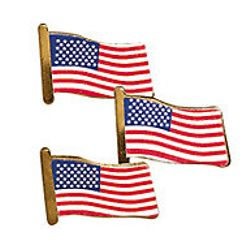 Metal USA Flag Pin/Brooch