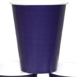 9oz Purple Paper Cups