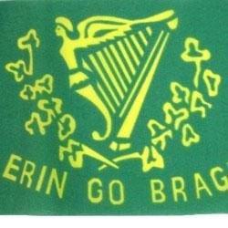 12in x 18in Polyester Erin Go Bragh Flag