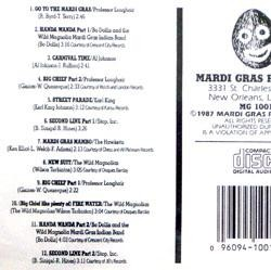 Mardi Gras In New Orleans CD Vol 1