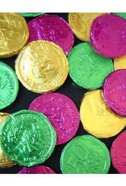Mardi Gras Bubble Gum