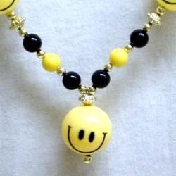 42in 5 Smiley Face Beads