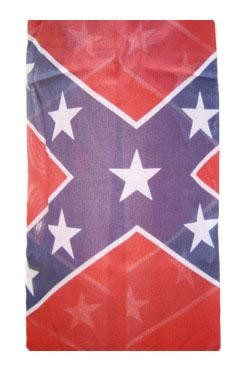 5ft x 5in Polyester Rayon Rebel/ Confederate Flag Windsock