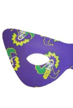 Mardi Gras Jester Cat Eye Masquerade Mask