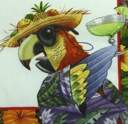 6.5in x 6.5in Caribbean Soul Lunch Napkins