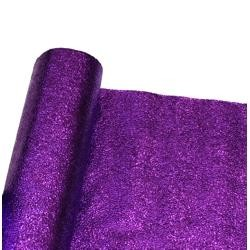 25in x 75 Feet Long Metallic Purple Cracked Ice Rolls Float Decoration