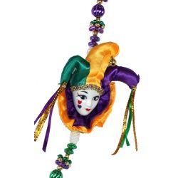 Lady Jester Doll Necklace
