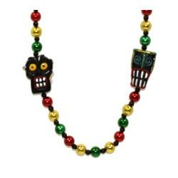 Voodoo Masks Necklace
