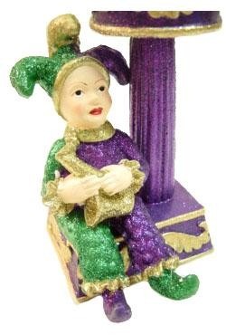 5in Jester Candle Holder