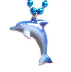 Aqua Dolphin Necklace
